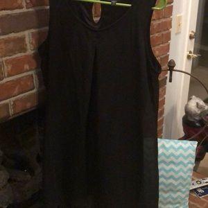 Junior girl black dress